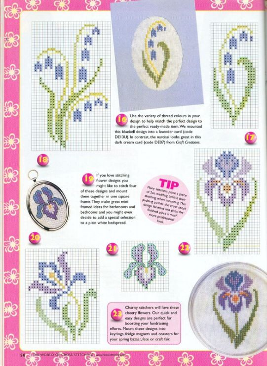 Gallery.ru / Фото #4 - The world of cross stitching 044 апрель 2001 - WhiteAngel