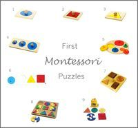 1, 2 and 3 Circle, Square and Triangle Puzzle sold separately at Classic Baby or as part of a set from A2Z Montessori (Australia) or Kid Advance (US). 4. Increasing Circle Puzzle available from Classic Baby, A2Z Montessori (Australia), Montessori Outlet (US). 5 Circle Sorter Kid Advance or Amazon or...