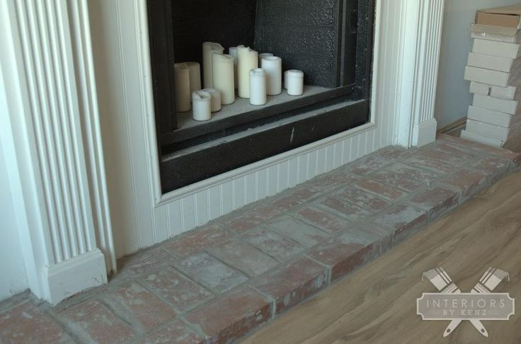 how to build a fireplace hearth