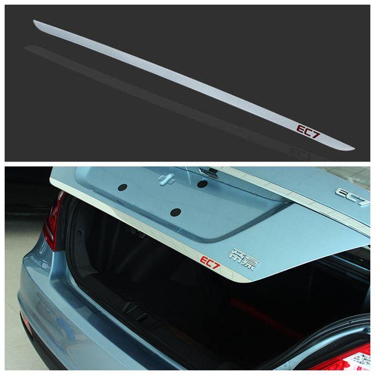 Geely new Emgrand 7,EC7,EC715,EC718,Emgrand7,E7,EC7-EV,EV,Car trunk lid decorative light strip bar,car accessories,car trim #Affiliate