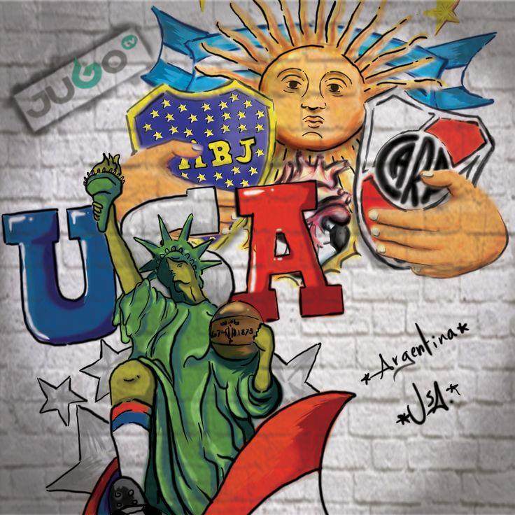 StreetArt USA Argentina  #somosJUGOtv