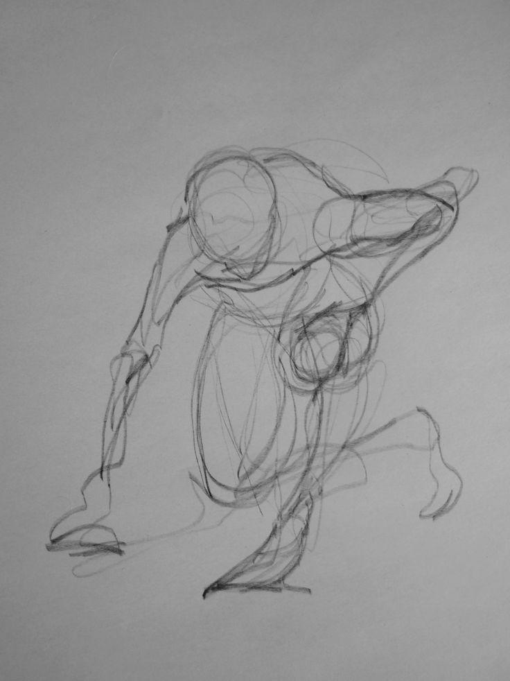 life drawing - Sergio Rigoli □ 30 second pose