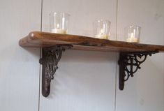 5 Certain Cool Tricks: Farmhouse Floating Shelf Chic floating shelves diy.Floati…   – Wood Floating Shelves