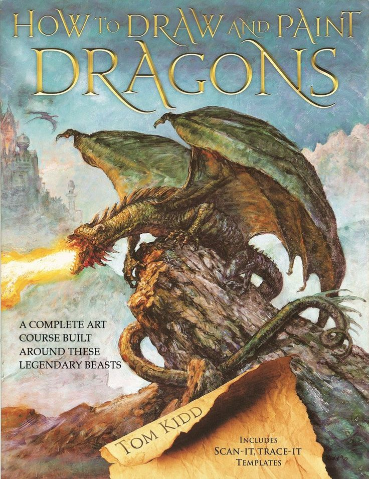 21 best dragons books resources images on pinterest book how to draw and paint dragons a complete course b tom kidd new item fandeluxe Ebook collections