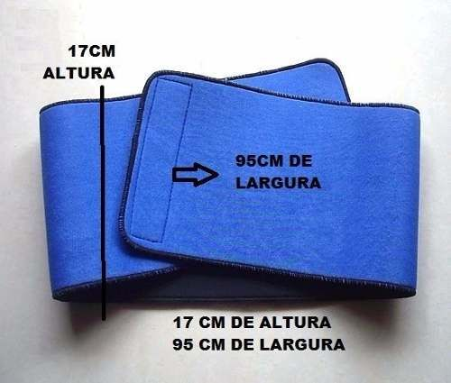 faixa cinta abdominal neoprene masculina velcro frete grátis