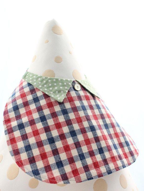 えりのついた、お洋服のようなスタイです魔女の宅急便のトンボのイメージ・・・(なんとなく) プレゼント用にはもちろん、お出かけ用としてお子様に お洋服のようなか...|ハンドメイド、手作り、手仕事品の通販・販売・購入ならCreema。