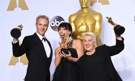 Lesley Vanderwalt, Elka Wardega and Damian Martin won the Academy Awards for Best Makeup And Hairstyling for the film Mad Max: Fury Road in 2016.