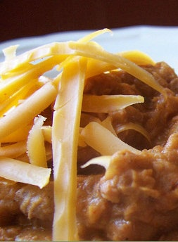 How to make homemade refried beans for about $0.25 per can!