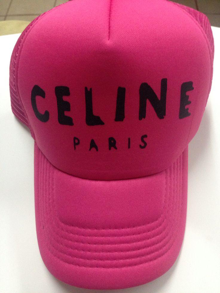 Gorra Pink Celine París