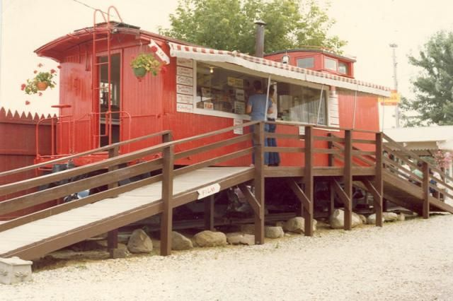 Caboose Food Wagon Railroad Train Someday Food Wagons