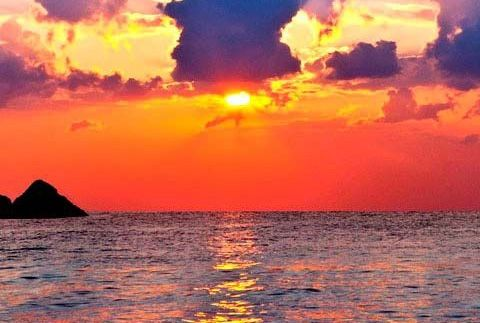 A perfect sunset in the color of PH3! (we love orange, goodmorning)