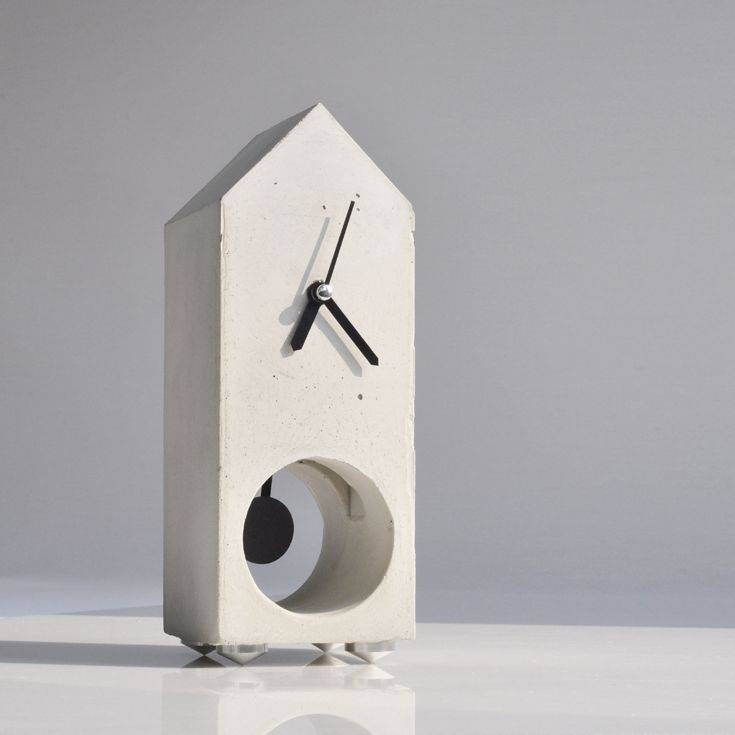 Concrete clock - full tutorial