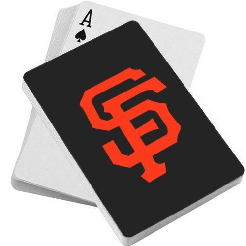 MLB San Francisco Giants Playing Cards Sport, Sporting good, Fitness. Team logo playing cards.