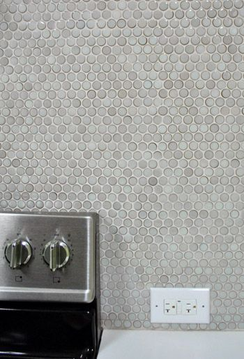 backslash tiles (up-close view)  The Big Kitchen Reveal | Young House Love