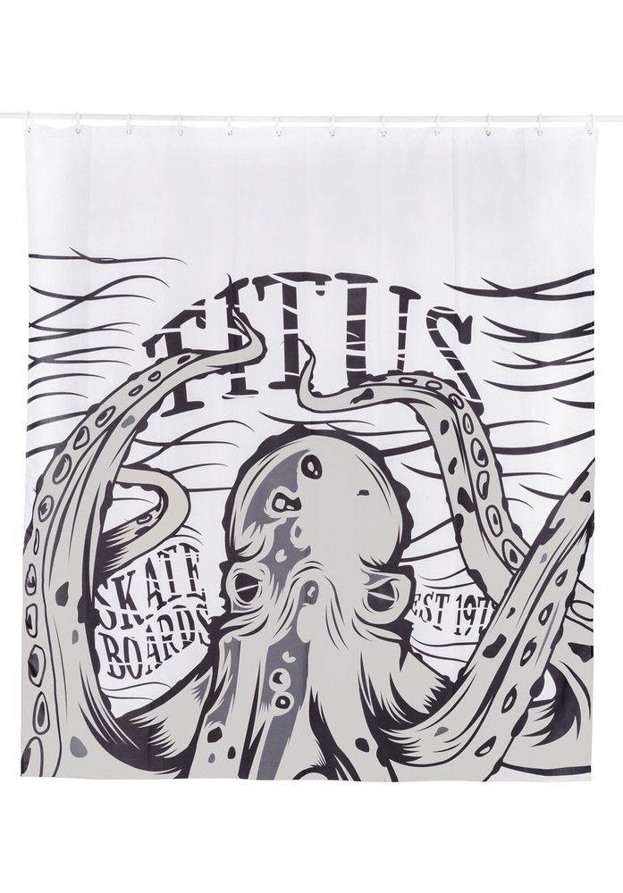 TITUS Kraken-Duschvorhang - titus-shop.com  #Misc. #AccessoriesMale #titus #titusskateshop
