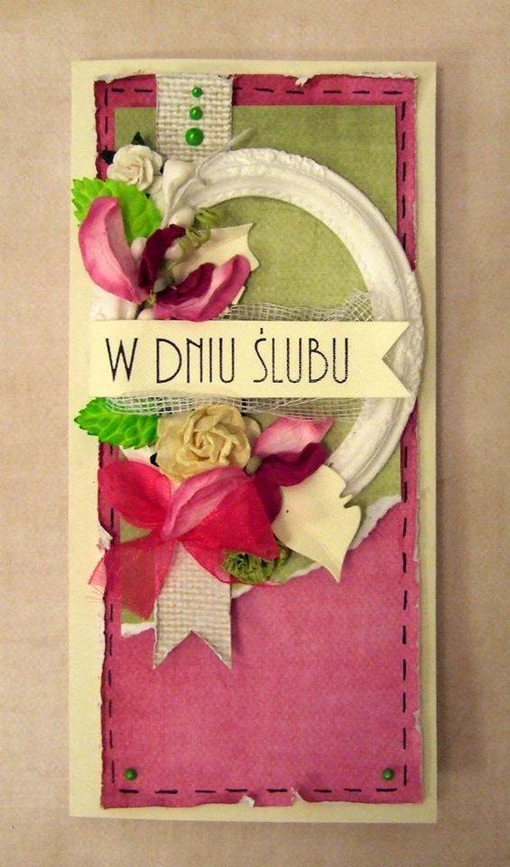 Card by Dziwolonk / Sweet and sour paper collection by P13