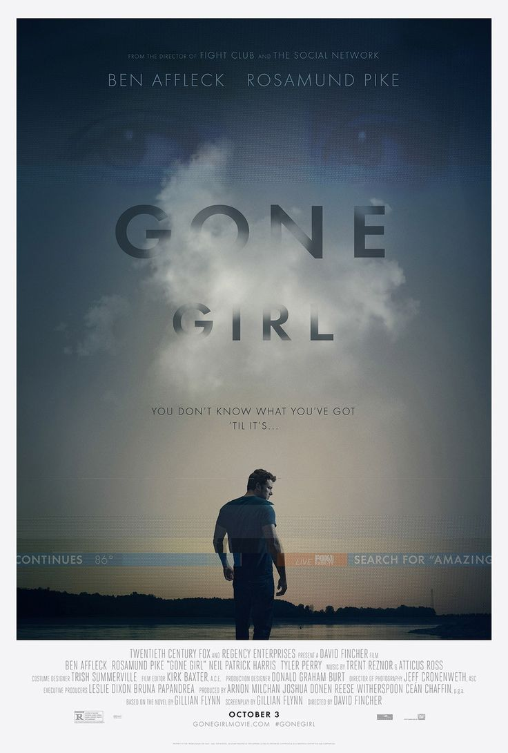 Gone Girl (2014) — Neil Kellerhouse #moviePoster