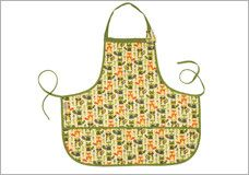 SugarBooger What Did The Fox Eat? Kiddie Apron