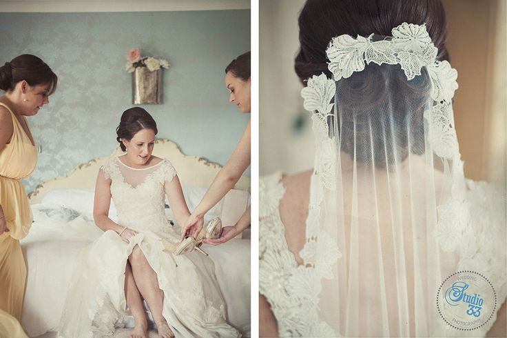 Bridesmaids fun and stunning veil #weddingshots #DruidsGlen  Photographed by www.studio33weddings.com #dublinweddingphotographer #studio33weddings    #alternative #modern