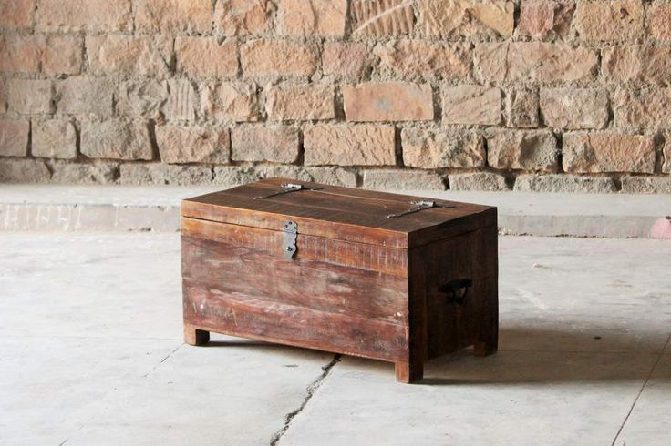 Rustica Upcycled Trunk Box