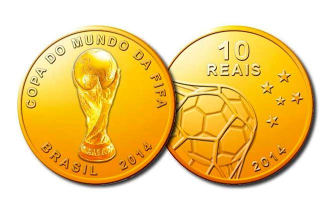 Brazil 2014 World Cup Coins