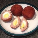 A twist on the traditional Scotch egg!