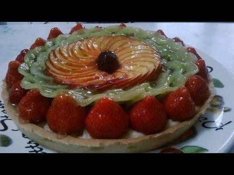 La tarte aux fruits de saison - Apprendre la pâtisserie - YouTube