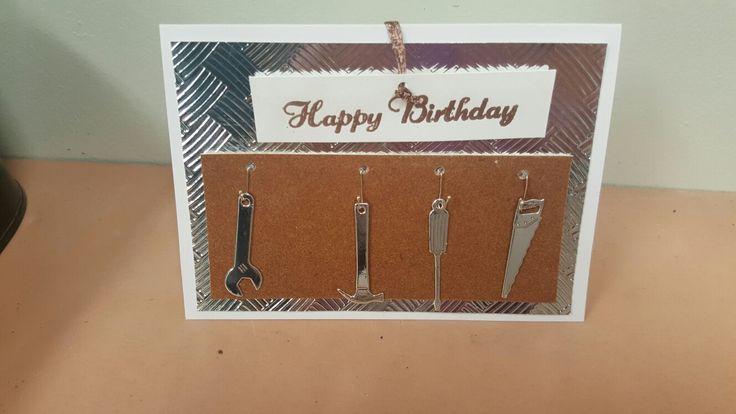 Toolboard birthday card