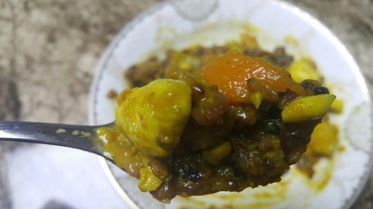 닭가슴살을 듬뿍~ 인도 카레가루 100% 들어간 고단백 영양만점 카레 만들기. 다이어트 음식!