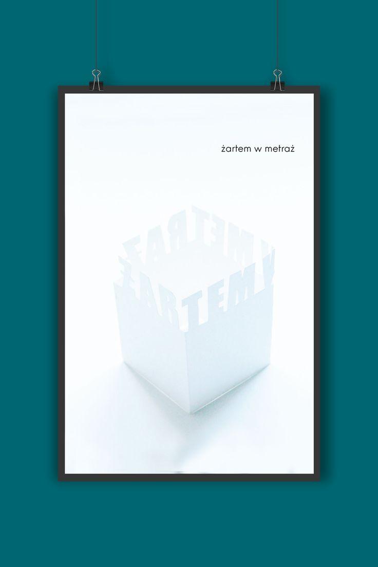 """Przejrzyj mój projekt w @Behance: """"Palindrome poster""""…"""