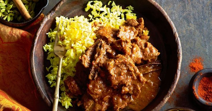 This South African Malay curry gets a kick of heat from cayenne pepper.