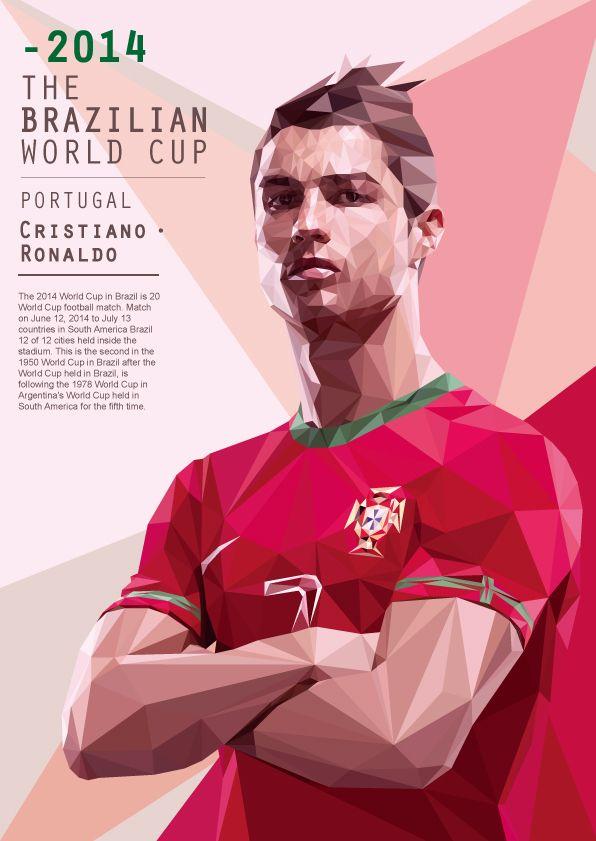 查看《[2014世界杯球星立体肖像]》原图,原图尺寸:596x841
