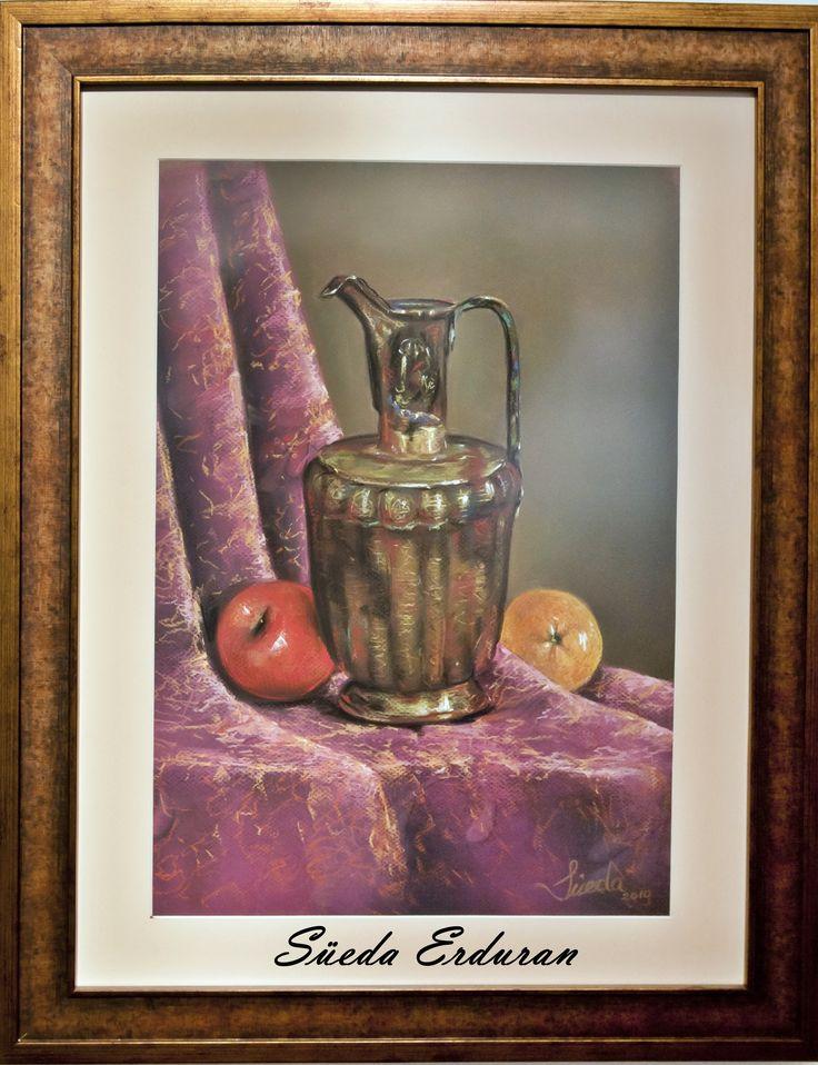 Pastel painting made by Süeda Erduran