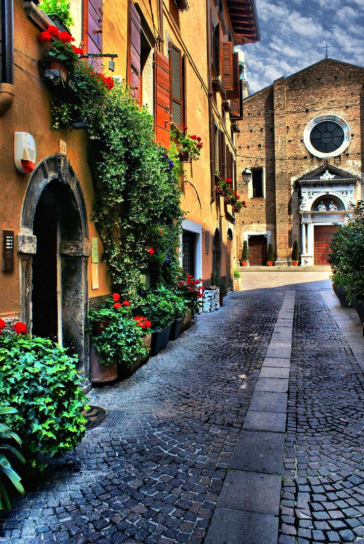 Salò Lago di Garda ~ is surrounded by quaint towns, medieval streets and vineyards in Lombardy, Italy  johnenpieter.com