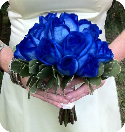 Blue Roses Bouquet - Stein Your Florist, Co. - Philadelphia, PA