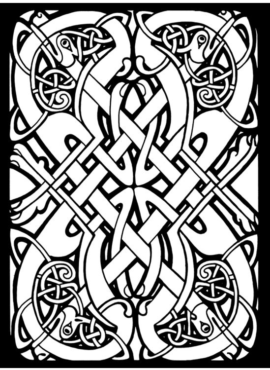 Celtic Design Coloring Page From Art Category Select 27215 Printable Crafts Of Cartoons Nature Animals Bible And Many More