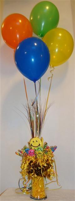 Candy balloon centerpiece party ideas pinterest