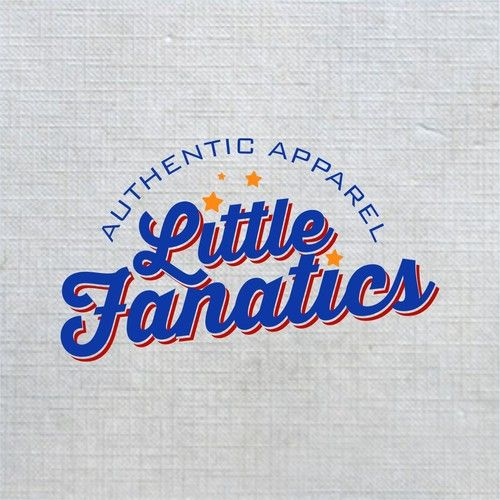 Little Fanatics - Kid's Authentic Sporting Apparel store requires a new logo!