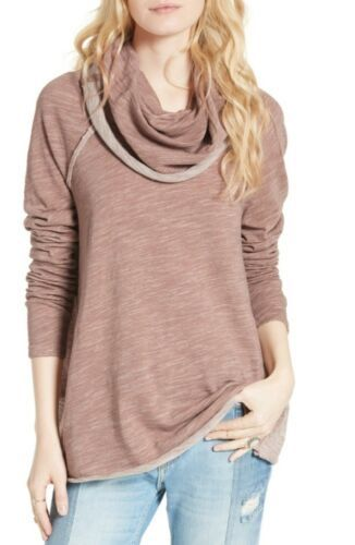 773d4988cd FP-Free-People-Beach-Cocoon-Cowl-Neck-Pullover -Knit-Top-Shirt-One-Body-Xs-Small