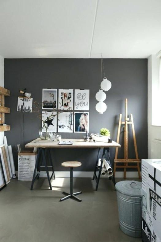 Office Wall Paint Color Schemes Reception Area Home Office