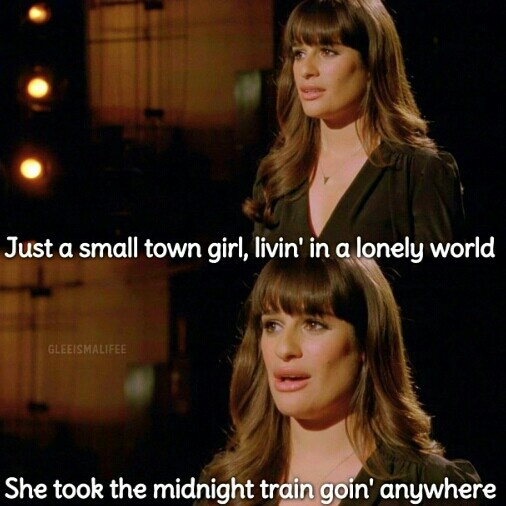 Glee - Don't Stop Believin'<<<<< LOVED this performance!