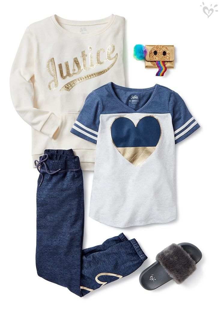 This is too soft, said no girl ever! This outfit will give her all the feels.