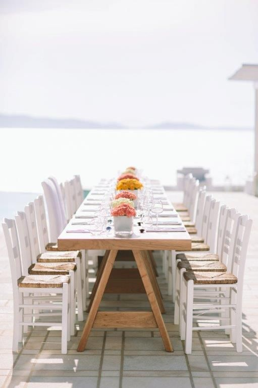 Wedding Table | Wedding in Greece by Stella & Moscha | Bespoke Wedding Design | Photo by George Pahountis