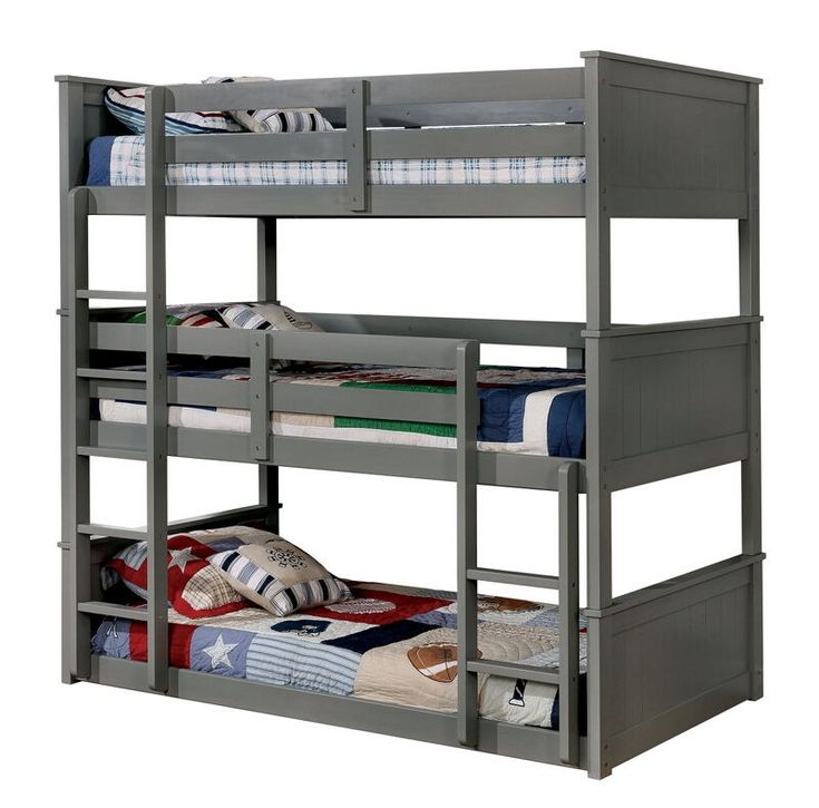 Furniture Of America Triple Bunk Bed: 344 Best Bunk Beds Images On Pinterest