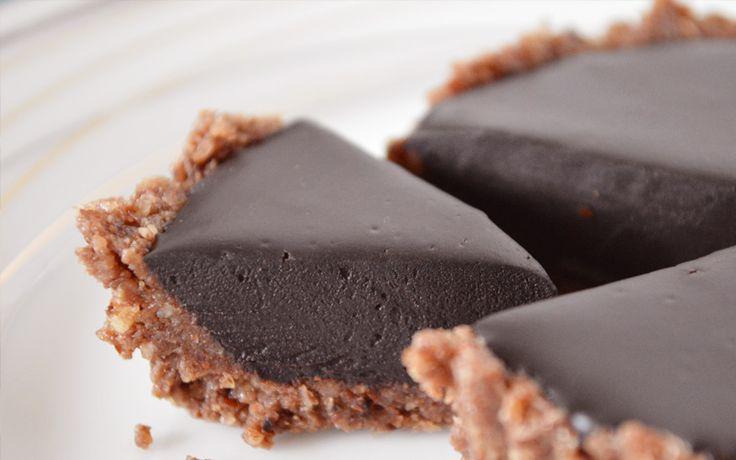 Hazelnut Chocolate Tart-Our Paleo Life