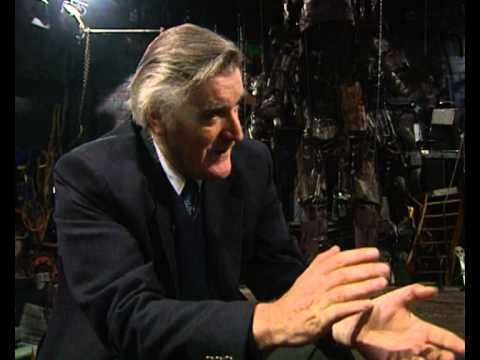 Ted hughes talks about the iron man