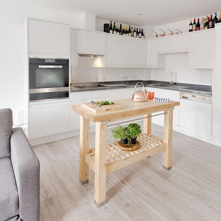 Corner Kitchen With Island