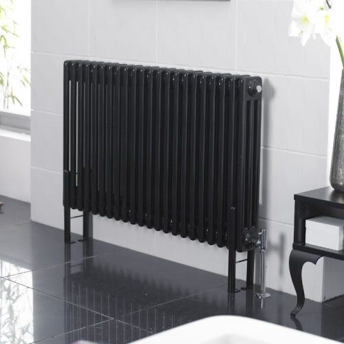 hudson reed radiateur style fonte 60 x 2002 watts noir laqu windsor products and style. Black Bedroom Furniture Sets. Home Design Ideas