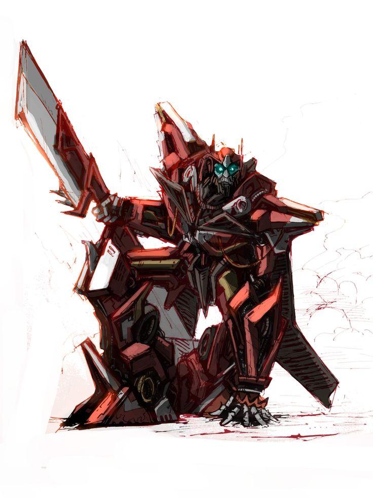 Dotm Sentinel Prime by Klejpull.deviantart.com on @deviantART