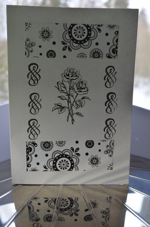 Card for many occasions  Birthday  Anniversary Graduation / Kortti eri tilaisuuksiin